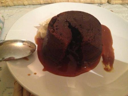 Salted Caramel Chocolate Fondants