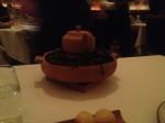 Chowder in a teapot