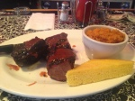 Bone Lick Park: Beef short ribs with yams