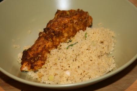 Spice & Honey Salmon